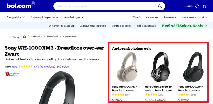 De UX bij bol.com
